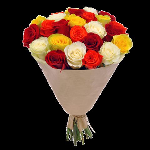 Букет 25 роз Bright Kenya