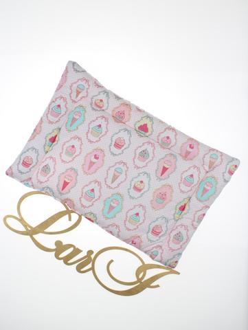 Подушка в кроватку (разноцветный, бязь/бязь, (40*50))