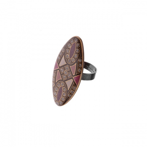Кольцо K27995.25 V