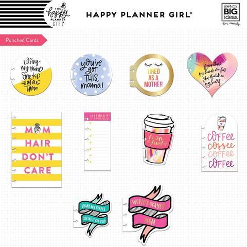Разделительные страницы -высечки  Happy Planner Inspiration Cards -Super Mom