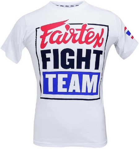 Футболка Fairtex T-shirt TST51 White/Blue
