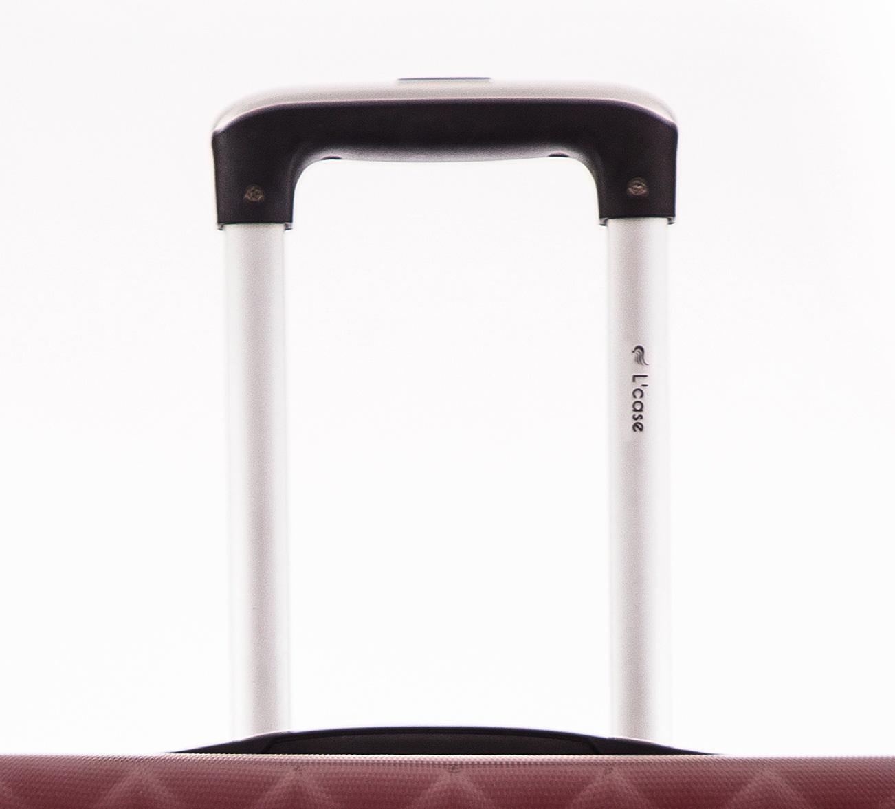 Чемодан со съемными колесами L'case Phatthaya-24 Бордовый (M)