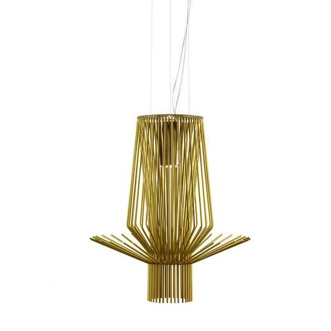Подвесной светильник копия Allegretto Assai by Foscarini (золотой)
