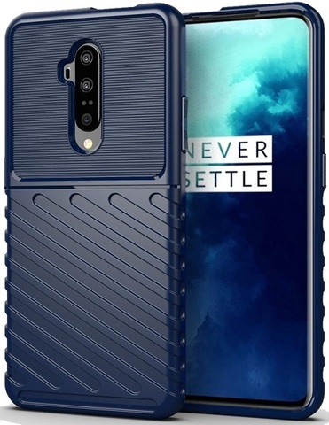 Чехол OnePlus 7T Pro цвет Blue (синий), серия Onyx, Caseport