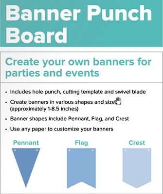 Доска для изготовления баннеров Envelope Punch Board