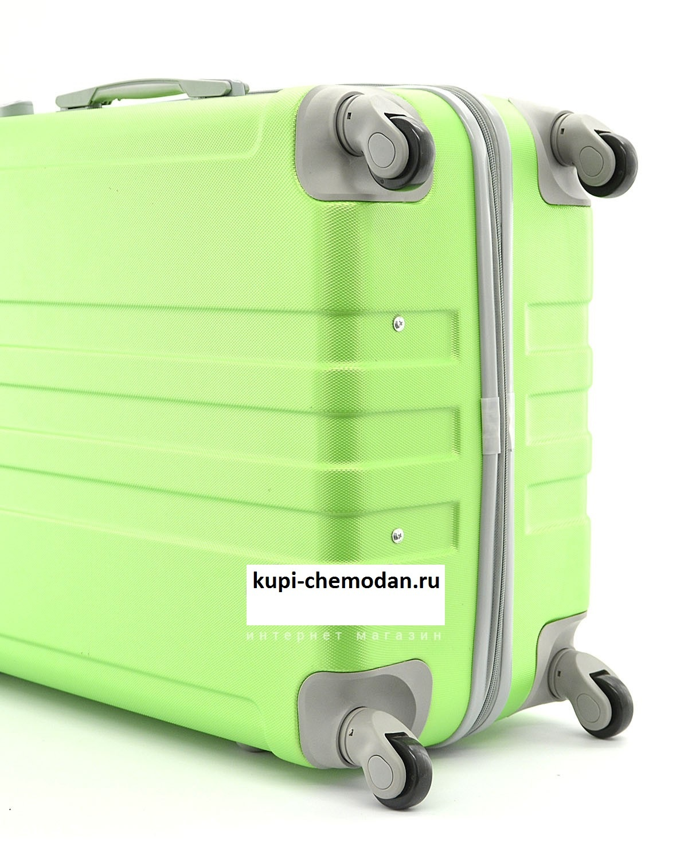 Чемодан Ananda 533 Зеленый (M)