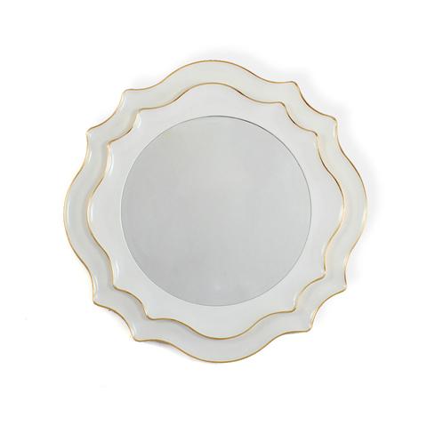Зеркало дизайнерское 345688 by Light Room (белый)