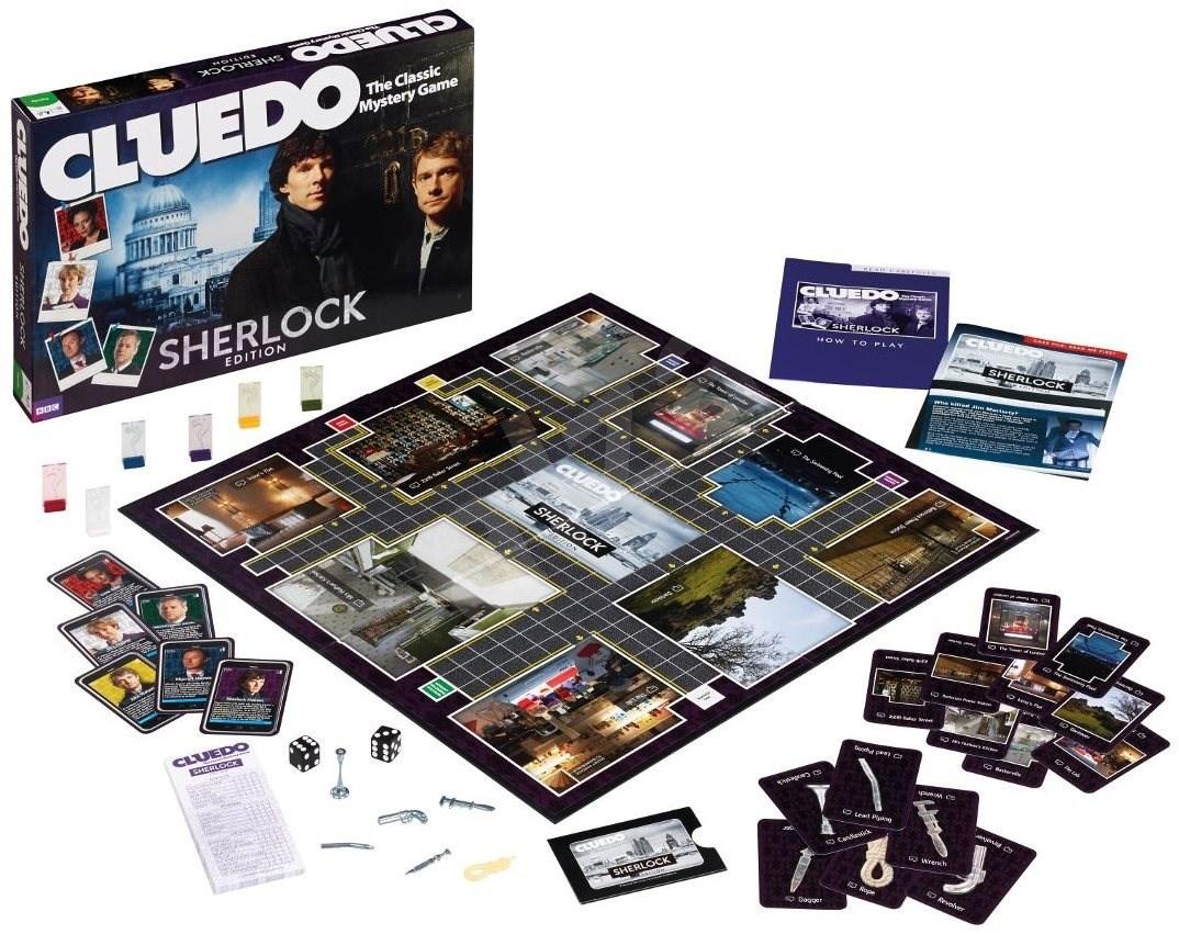 Настольная игра Cluedo Шерлок Холмс
