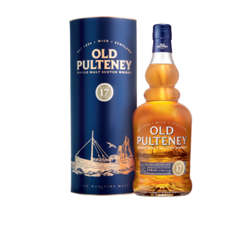 Old Pulteney 17 Years тубус