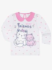 GKT003641 блузка детская, разноцветная