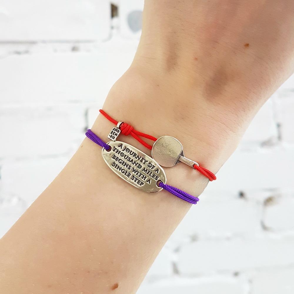 Ping pong bracelet, Sterling Silver