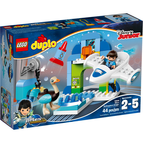 LEGO Duplo: Стеллосфера Майлза 10826 — Miles' Stellosphere Hangar — Лего Дупло
