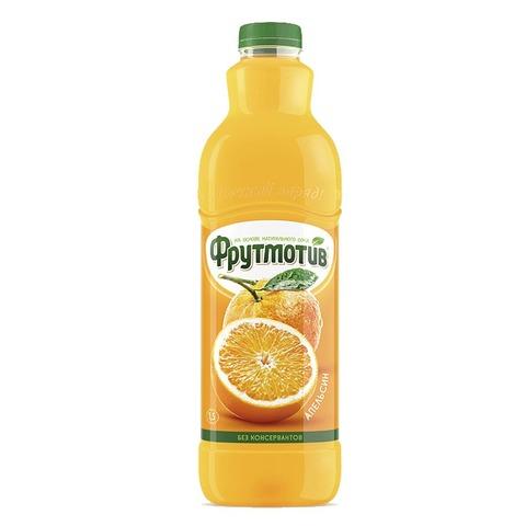Frutmotiv напиток безалкогольный газированный со вкусом апельсина 1,5 л.