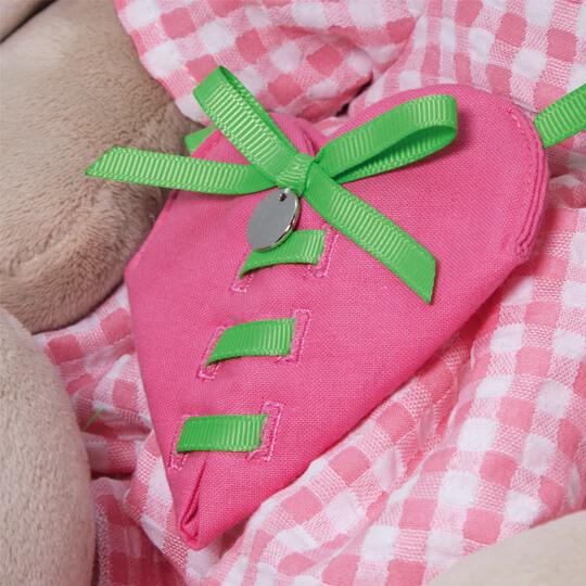 Зайка Ми Большой с сумкой - сердечком