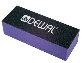 Брусок 9104004K шлифовальный, фиолетовый (Dewal)