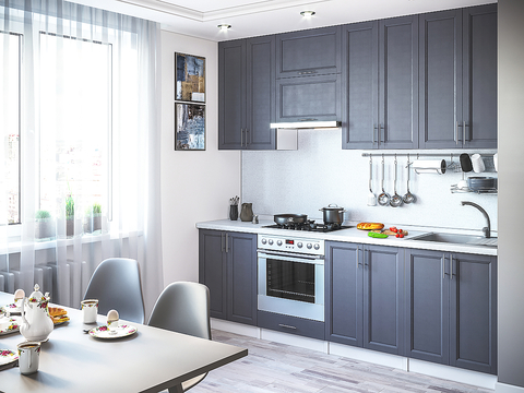 Кухонный гарнитур Сканди 1