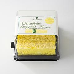 """Торт-пирожное """" Королевская ватрушка Лимон"""" 130 г"""