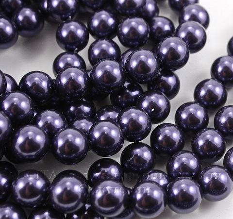 5810 Хрустальный жемчуг Сваровски Crystal Dark Purple круглый 10 мм (Crystal Dark Purple 2)
