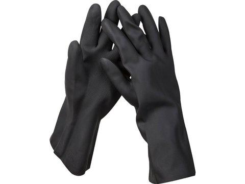 Перчатки KRAFTOOL противокислотные, неопреновые, повышенной прочности, с х/б напылением, размер XXL