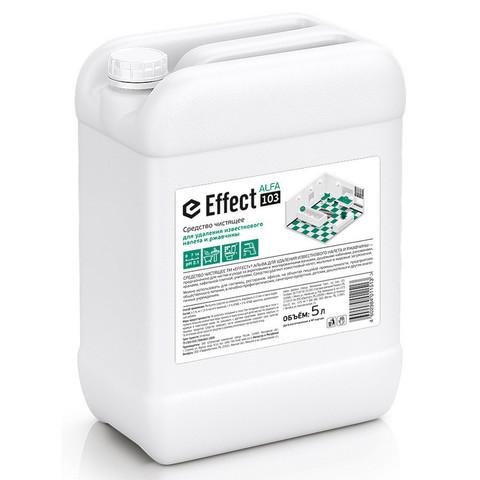 Чистящее средство для удаления известкового налета и ржавчины Effect Alfa 103 5 л