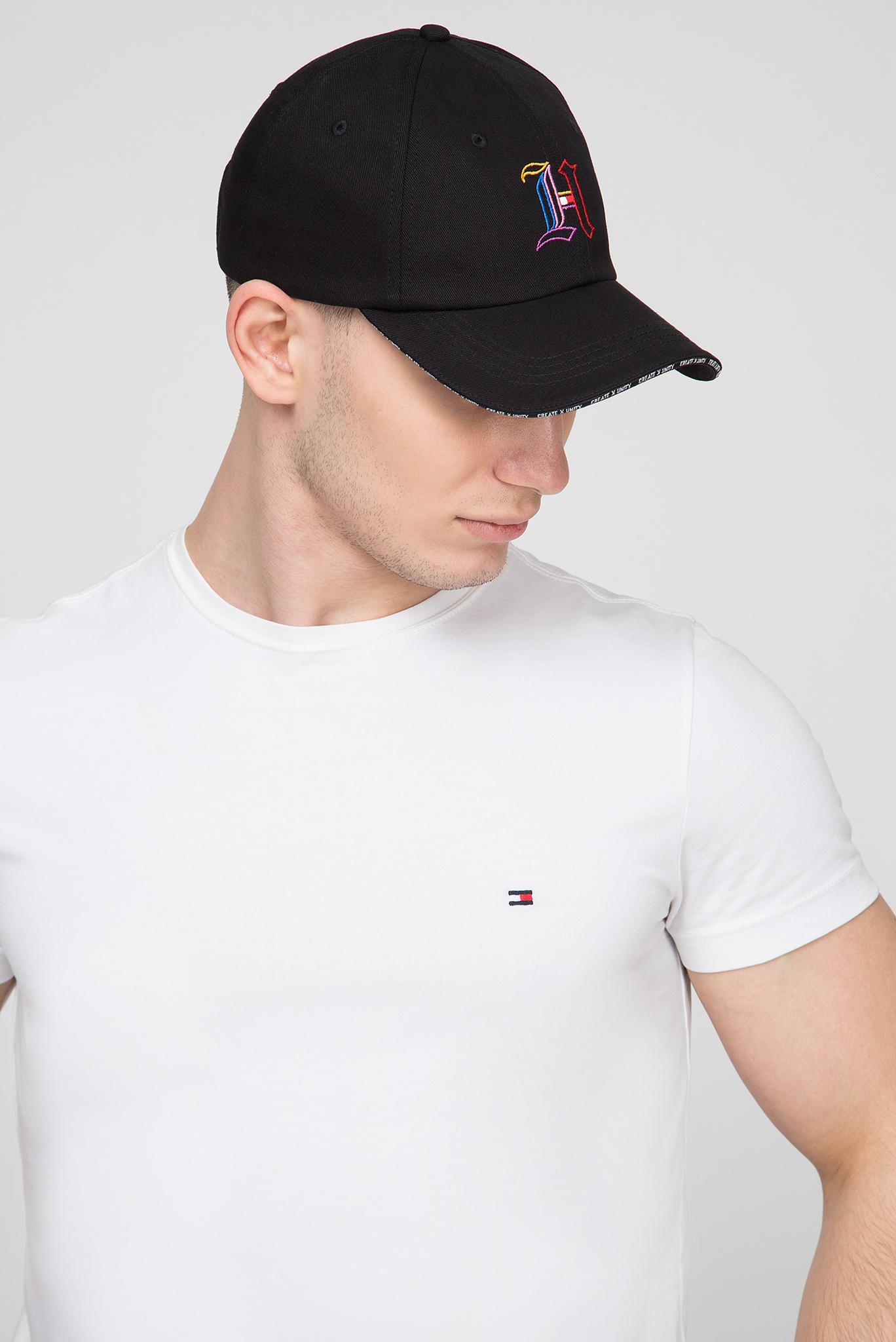 Мужская черная кепка Tommy Hilfiger