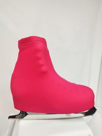 Чехлы на ботинки (малиновые)