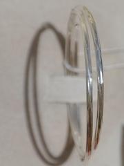 Конго 5,0 см. с узором (серьги из серебра)