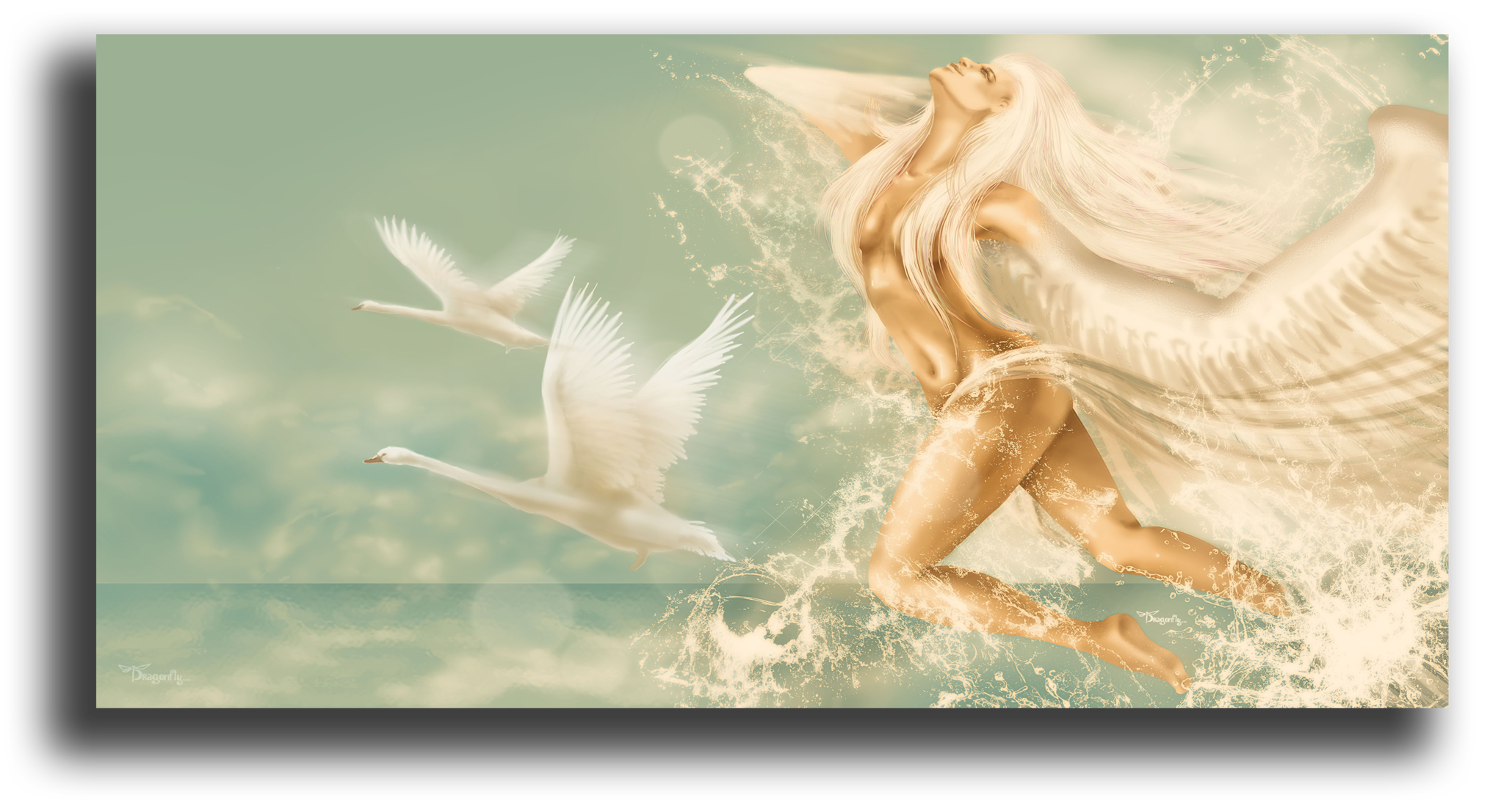 """Постеры Постер """"Небесная дева"""" п218.png"""