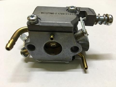 Карбюратор для бензопилы с объемом двигателя 25cc ( два отвода )