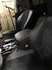 Чехлы на Toyota Land Cruiser Prado 150 2017–2020 г.в.