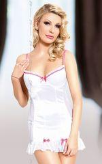 Сорочка Lizzy с бантиками и трусиками-стринг -