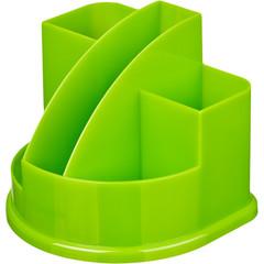 Подставка для канцелярских мелочей Attache Fantasy зеленая 5 отделений