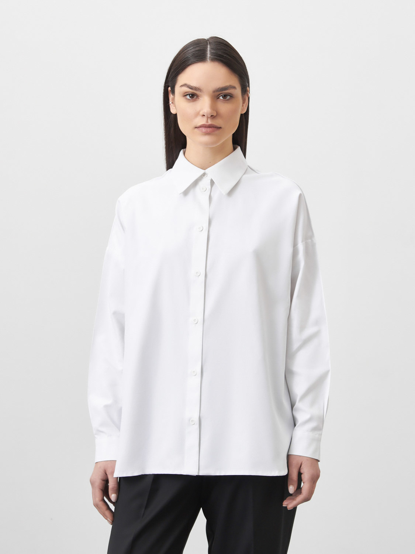 Рубашка Summer со стрелками на рукавах, Белый