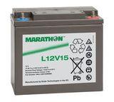 Аккумулятор Marathon L 12V15 ( 12V 14Ah / 12В 14Ач ) - фотография