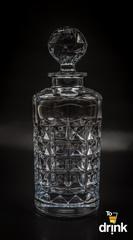 Набор для виски Diamond Bohemia, 1 штоф и 6 стаканов, фото 2