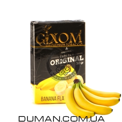 Табак Gixom Banana (Гиксом Банан)