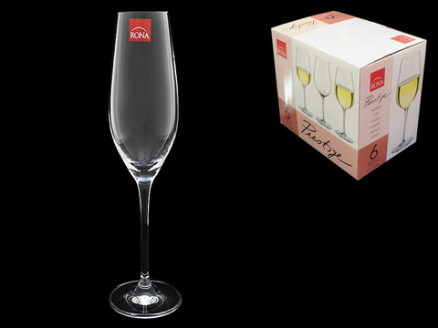 Набор из 6 бокалов для шампанского «Престиж»