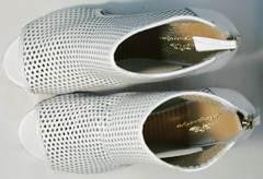 Стильные босоножки на каблуке с открытым носом Magnolya 3503 56-3 SummerWhite