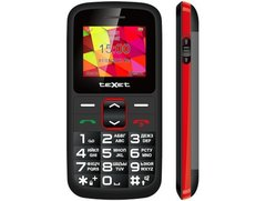 Мобильный телефон Texet TM-B217 (Black/red) на запчасти