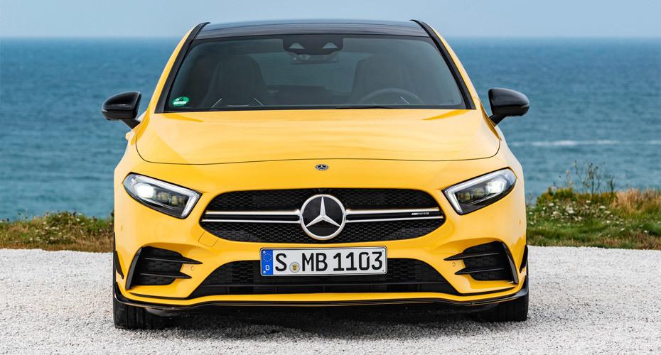 Обвес A35 AMG для Mercedes A W177