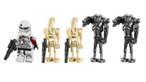 LEGO Star Wars: Битва на планете Салукемай 75037 — Battle on Saleucami — Лего Стар Ворз Звездные войны