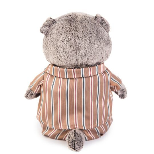 Кот Басик в шелковой пижамке