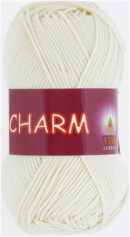 Пряжа Charm (Vita cotton) 4153 Молочный