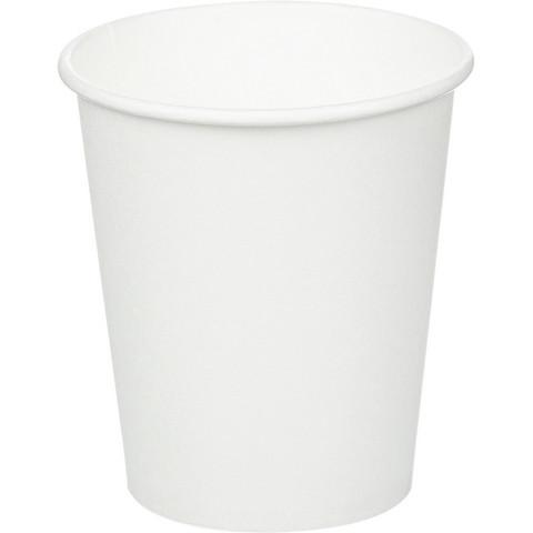 Стакан одноразовый Huhtamaki бумажный белый 200 мл 50 штук в упаковке