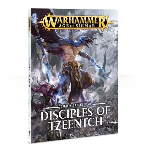 BATTLETOME: DISCIPLES OF TZEENTCH SB ENG