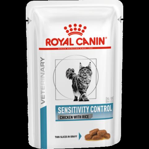 Royal Canin Sensitivity Control Feline Диета для кошек при пищевой аллергии, непереносимости 85 г