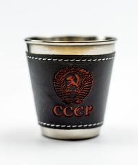 Подарочный набор СССР из фляги 540 мл, 4-х стопок и воронки, фото 6