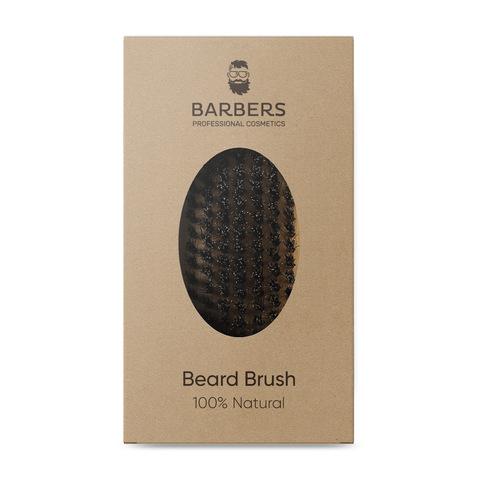 Щётка для бороды Barbers Bristle Beard Brush (3)