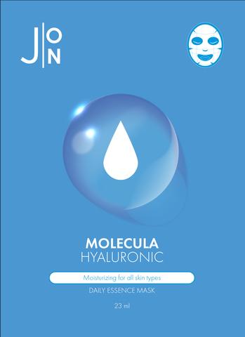 Тканевая маска для лица увлажняющая с гиалуроновой кислотой J:ON Molecula Hyaluronic Daily Essence Mask