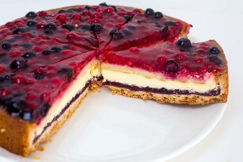 Торт Песочно-бисквитный